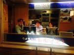 ウメダFM Be Happy!78.9 「なにわトーキンググルーヴ」にアシスタント&CMJゲスト枠としてラジオ出演